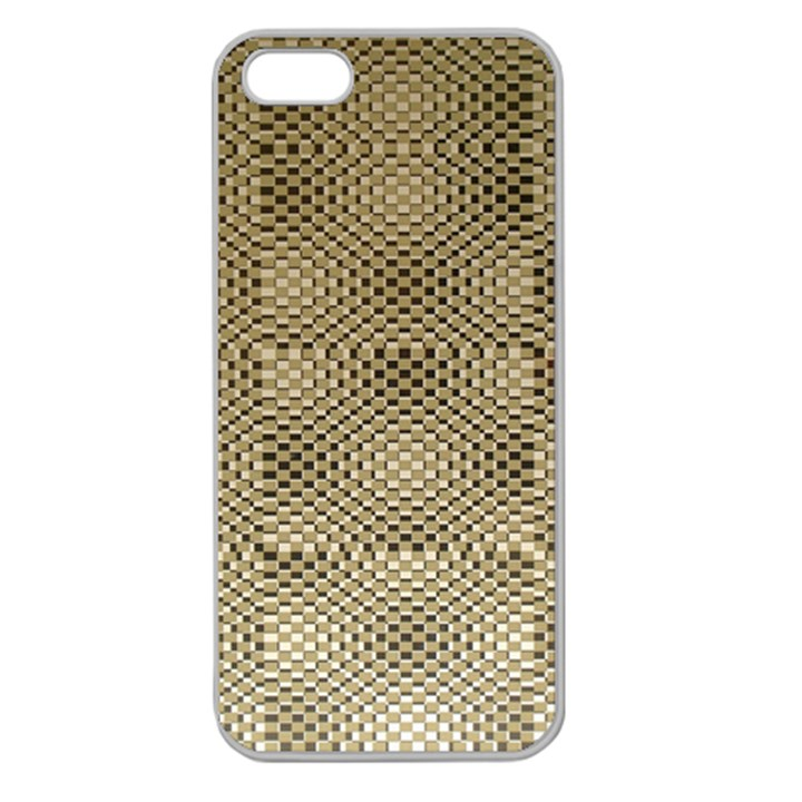 Fashion Style Glass Pattern Apple Seamless iPhone 5 Case (Clear)