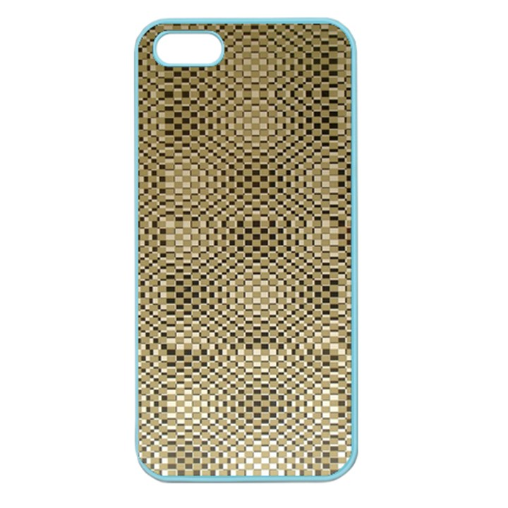 Fashion Style Glass Pattern Apple Seamless iPhone 5 Case (Color)