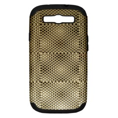 Fashion Style Glass Pattern Samsung Galaxy S III Hardshell Case (PC+Silicone)