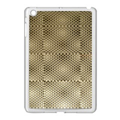 Fashion Style Glass Pattern Apple iPad Mini Case (White)