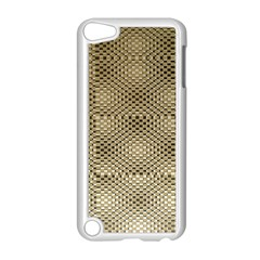 Fashion Style Glass Pattern Apple iPod Touch 5 Case (White)