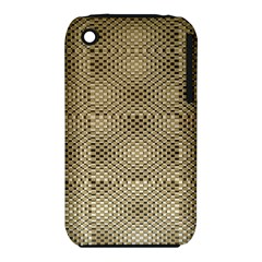 Fashion Style Glass Pattern Apple iPhone 3G/3GS Hardshell Case (PC+Silicone)
