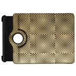 Fashion Style Glass Pattern Kindle Fire HD Flip 360 Case Front
