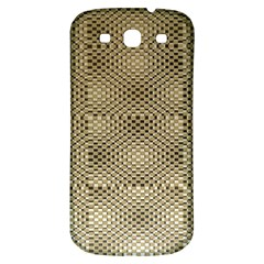 Fashion Style Glass Pattern Samsung Galaxy S3 S III Classic Hardshell Back Case