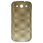 Fashion Style Glass Pattern Samsung Galaxy S3 S III Classic Hardshell Back Case Front