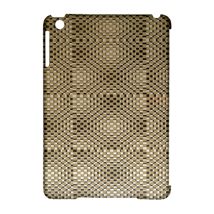 Fashion Style Glass Pattern Apple iPad Mini Hardshell Case (Compatible with Smart Cover)