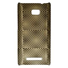 Fashion Style Glass Pattern HTC 8X
