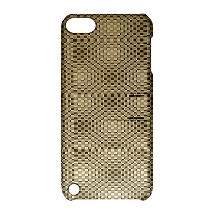 Fashion Style Glass Pattern Apple iPod Touch 5 Hardshell Case with Stand