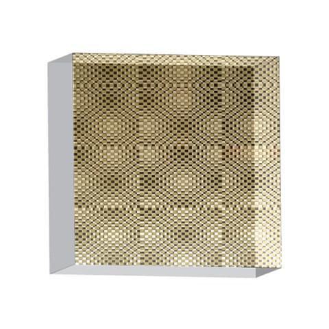 Fashion Style Glass Pattern 4 x 4  Acrylic Photo Blocks