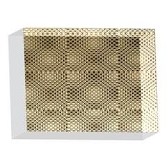 Fashion Style Glass Pattern 5 x 7  Acrylic Photo Blocks