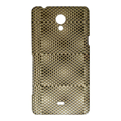 Fashion Style Glass Pattern Sony Xperia T