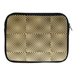Fashion Style Glass Pattern Apple iPad 2/3/4 Zipper Cases Front