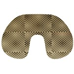 Fashion Style Glass Pattern Travel Neck Pillows Back