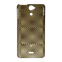Fashion Style Glass Pattern Sony Xperia V