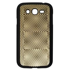 Fashion Style Glass Pattern Samsung Galaxy Grand DUOS I9082 Case (Black)