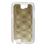 Fashion Style Glass Pattern Samsung Galaxy Note 2 Case (White) Front