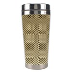 Fashion Style Glass Pattern Stainless Steel Travel Tumblers Left