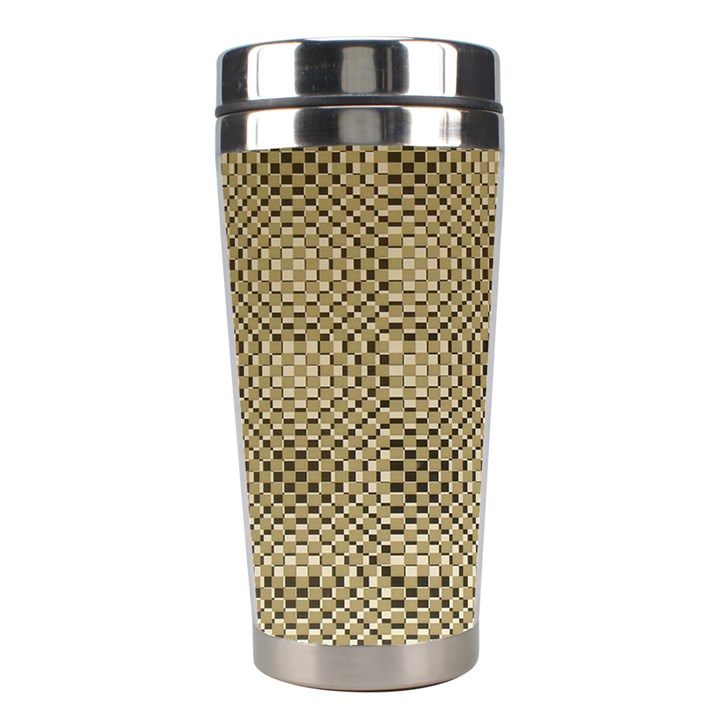 Fashion Style Glass Pattern Stainless Steel Travel Tumblers
