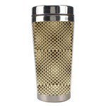 Fashion Style Glass Pattern Stainless Steel Travel Tumblers Center