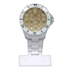 Fashion Style Glass Pattern Plastic Nurses Watch