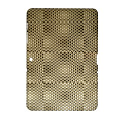 Fashion Style Glass Pattern Samsung Galaxy Tab 2 (10.1 ) P5100 Hardshell Case