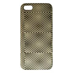 Fashion Style Glass Pattern iPhone 5S/ SE Premium Hardshell Case