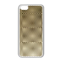 Fashion Style Glass Pattern Apple iPhone 5C Seamless Case (White)