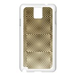 Fashion Style Glass Pattern Samsung Galaxy Note 3 N9005 Case (White) Front