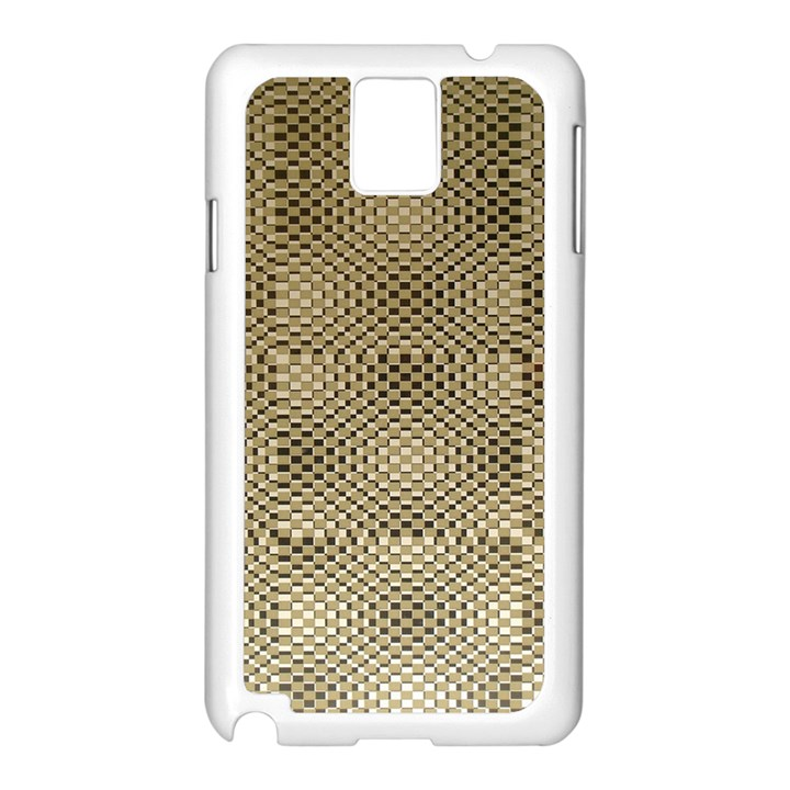 Fashion Style Glass Pattern Samsung Galaxy Note 3 N9005 Case (White)