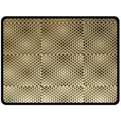 Fashion Style Glass Pattern Double Sided Fleece Blanket (Large)
