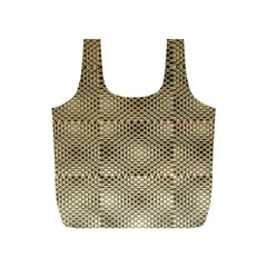 Fashion Style Glass Pattern Full Print Recycle Bags (S)