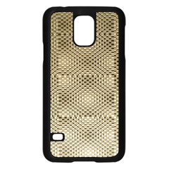 Fashion Style Glass Pattern Samsung Galaxy S5 Case (Black)