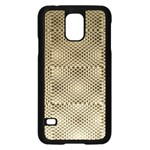 Fashion Style Glass Pattern Samsung Galaxy S5 Case (Black) Front