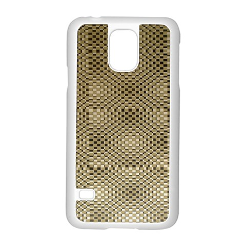 Fashion Style Glass Pattern Samsung Galaxy S5 Case (White)