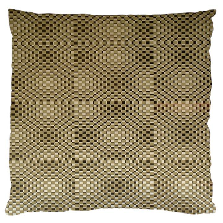 Fashion Style Glass Pattern Standard Flano Cushion Case (One Side)