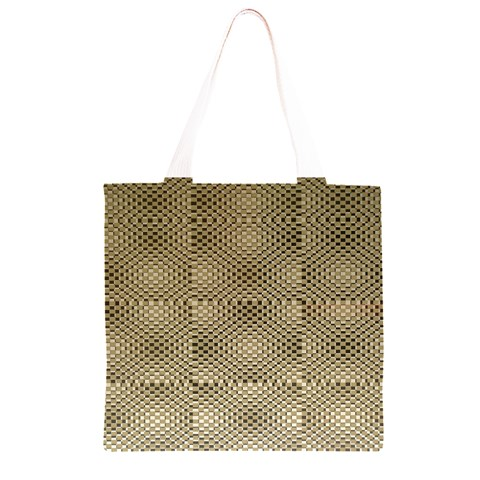Fashion Style Glass Pattern Grocery Light Tote Bag