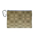 Fashion Style Glass Pattern Canvas Cosmetic Bag (M) Front