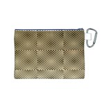 Fashion Style Glass Pattern Canvas Cosmetic Bag (M) Back