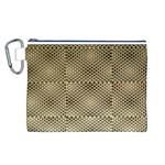 Fashion Style Glass Pattern Canvas Cosmetic Bag (L) Front