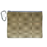Fashion Style Glass Pattern Canvas Cosmetic Bag (XL) Front