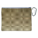 Fashion Style Glass Pattern Canvas Cosmetic Bag (XXL) Back