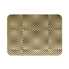 Fashion Style Glass Pattern Double Sided Flano Blanket (Mini)