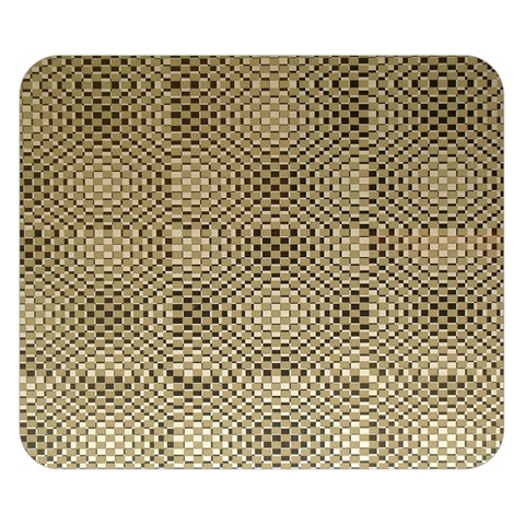 Fashion Style Glass Pattern Double Sided Flano Blanket (Small)