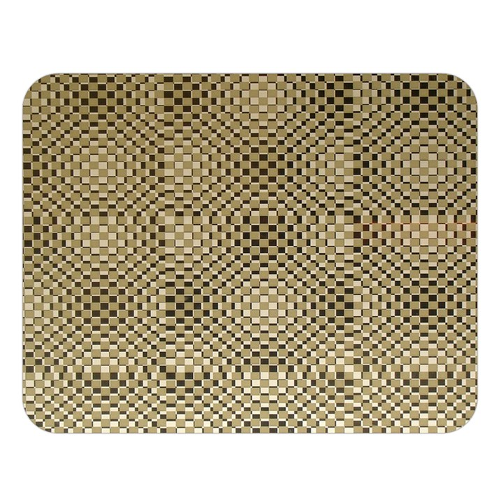Fashion Style Glass Pattern Double Sided Flano Blanket (Large)
