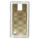 Fashion Style Glass Pattern Samsung Galaxy Note 4 Case (White) Front