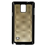 Fashion Style Glass Pattern Samsung Galaxy Note 4 Case (Black) Front
