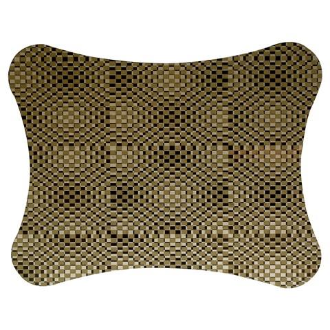 Fashion Style Glass Pattern Jigsaw Puzzle Photo Stand (Bow)