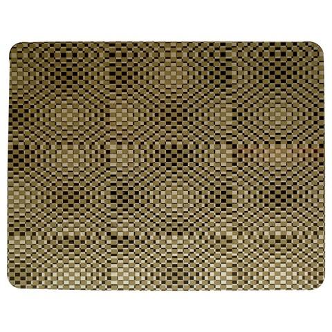 Fashion Style Glass Pattern Jigsaw Puzzle Photo Stand (Rectangular)