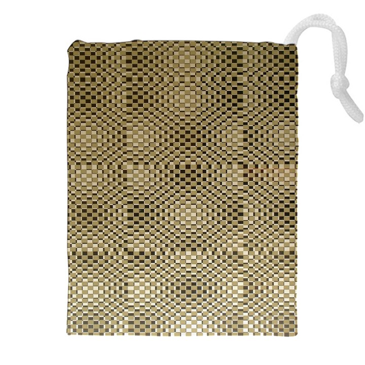 Fashion Style Glass Pattern Drawstring Pouches (XXL)