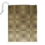 Fashion Style Glass Pattern Drawstring Pouches (XXL) Back